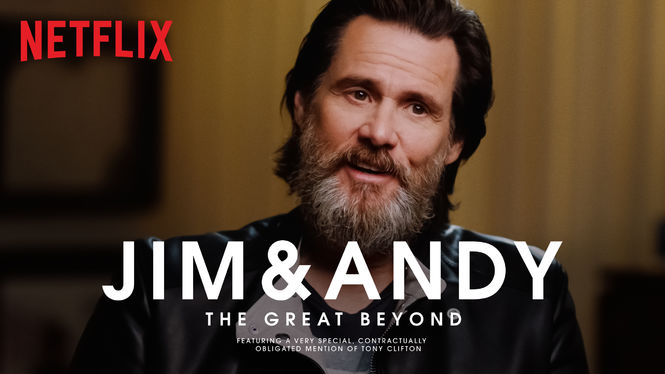 Image result for jim and andy netflix